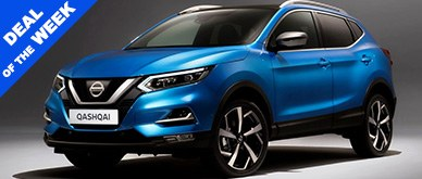 Nissan Qashqai DiG-T 140 N-Connecta Auto [Glass Roof]